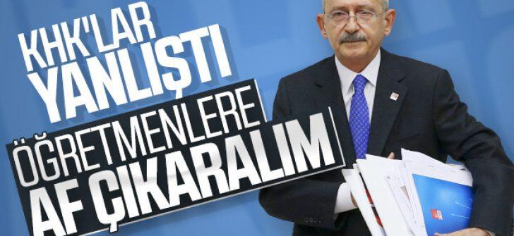 Kemal Kılıçdaroğlu'ndan KHK çağrısı
