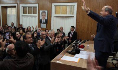 KKTC'de Başbakan Tatar, cumhurbaşkanı adayı oldu