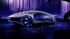 Mercedes'in etkileyici otomobili Vision AVTR yollara çıktı
