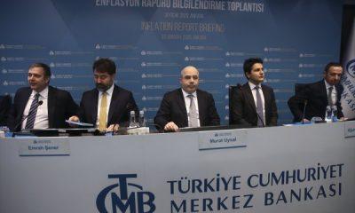 Merkez Bankası enflasyon tahminini değiştirmedi