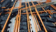 Mersin'de raf devrildi: 1 ölü, 1 yaralı