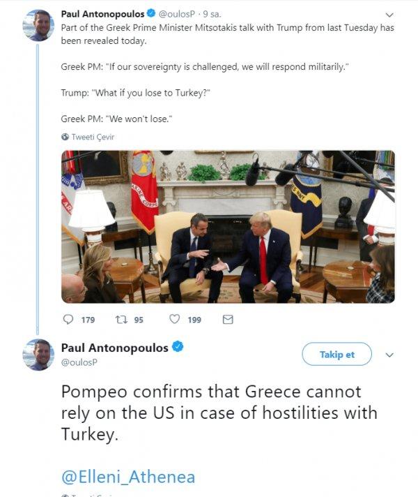 Miçotakis: Türkiye'ye askeri olarak cevap vereceğiz