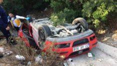 Muğla'da trafik kazası: 1 ölü 3 yaralı