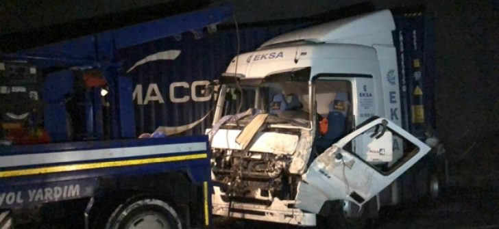 Niğde- Adana Otoyolu'nda zircileme kaza