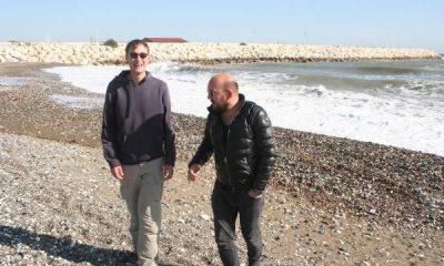 Otostopla dünya turu yapan Alman genç Mersin'de