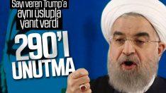 Ruhani'den Trump'a: İran halkını tehdit etme