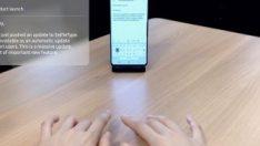 Samsung, yapay zeka destekli görünmez klavyesini tanıttı