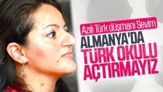 Sevim Dağdelen, Almanya'da Türk okullarına karşı