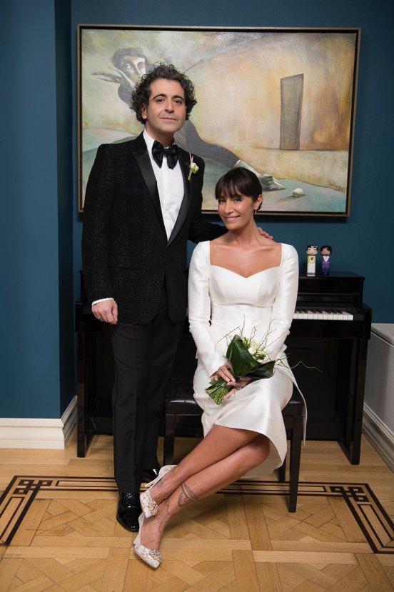 Sıla ve Hazer evlendi
