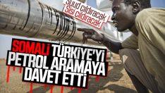 Somali hükümetinden Türkiye'ye sondaj teklifi