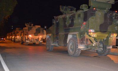 Suriye sınırındaki TSK birliklerine takviye