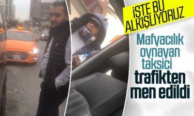 Taksicilerle turizm acentalarının şoförleri arasında kavga