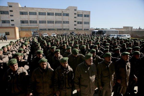 Tel Abyad'da asayiş, yerel polislerde