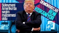 Trump: Süleymani'nin 20 yıl önce ölmesi gerekti
