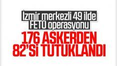 TSK içindeki FETÖ yapılanması operasyonunda 82 tutuklama