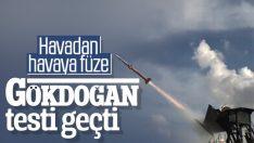 TÜBİTAK SAGE tarafında üretilen Gökdoğan testi geçti