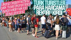 Türk turistler Yunanistan'da 136 milyon euro harcadı