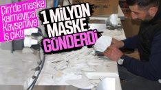 Türkiye'den Çin'e maske ihracatı