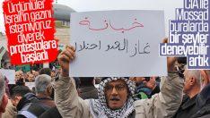 Ürdün'de İsrail'e doğalgaz protestosu