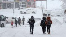 13 ilde kar nedeniyle eğitime 1 gün ara