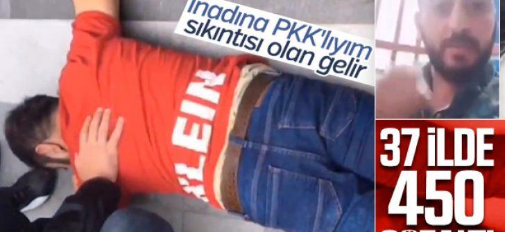 37 ilde PKK operasyonunun bilançosu