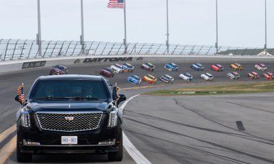 ABD Başkanı Trump Daytona 500 yarışlarının startını verdi