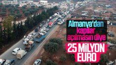 Almanya'dan Türkiye'ye İdlib için yardım