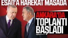 Ankara'da Akar-Erdoğan görüşmesi