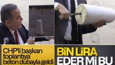 Antalya'da gündem beton dubaların fiyatı