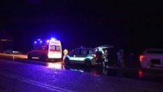 Antalya'da üç ayrı trafik kazası: 1 ölü, 10 yaralı