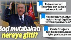 Bahçeli'den Kılıçdaroğlu'na çok sert Suriye tepki