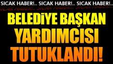 Başkan Yardımcısı Halit Güleç tutuklandı!