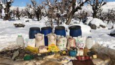 Batman'da PKK'ya ait 180 kilo amonyum nitrat ele geçirildi