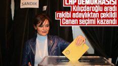 Canan Kaftancıoğlu yeniden İstanbul İl Başkanı seçildi