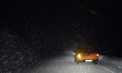 Çığ bölgesinde yoğun kar yağışı