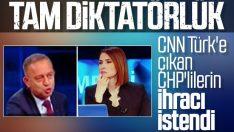 CNN Türk'e çıkan CHP'lilere ihraç istemi