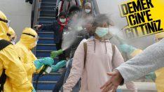Endonezya, koronavirüse karşı spreyle önlem aldı