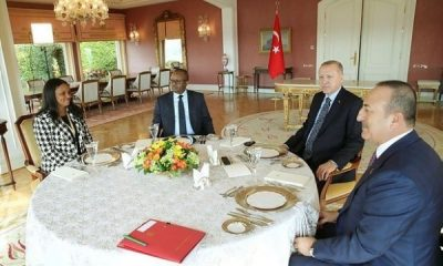 Erdoğan Cissoko Bissaau ile görüştü