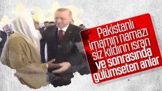Erdoğan cuma namazını İslamabad'da kıldı