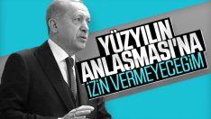 Erdoğan: Orta Doğu Planı'nı engelleyeceğim