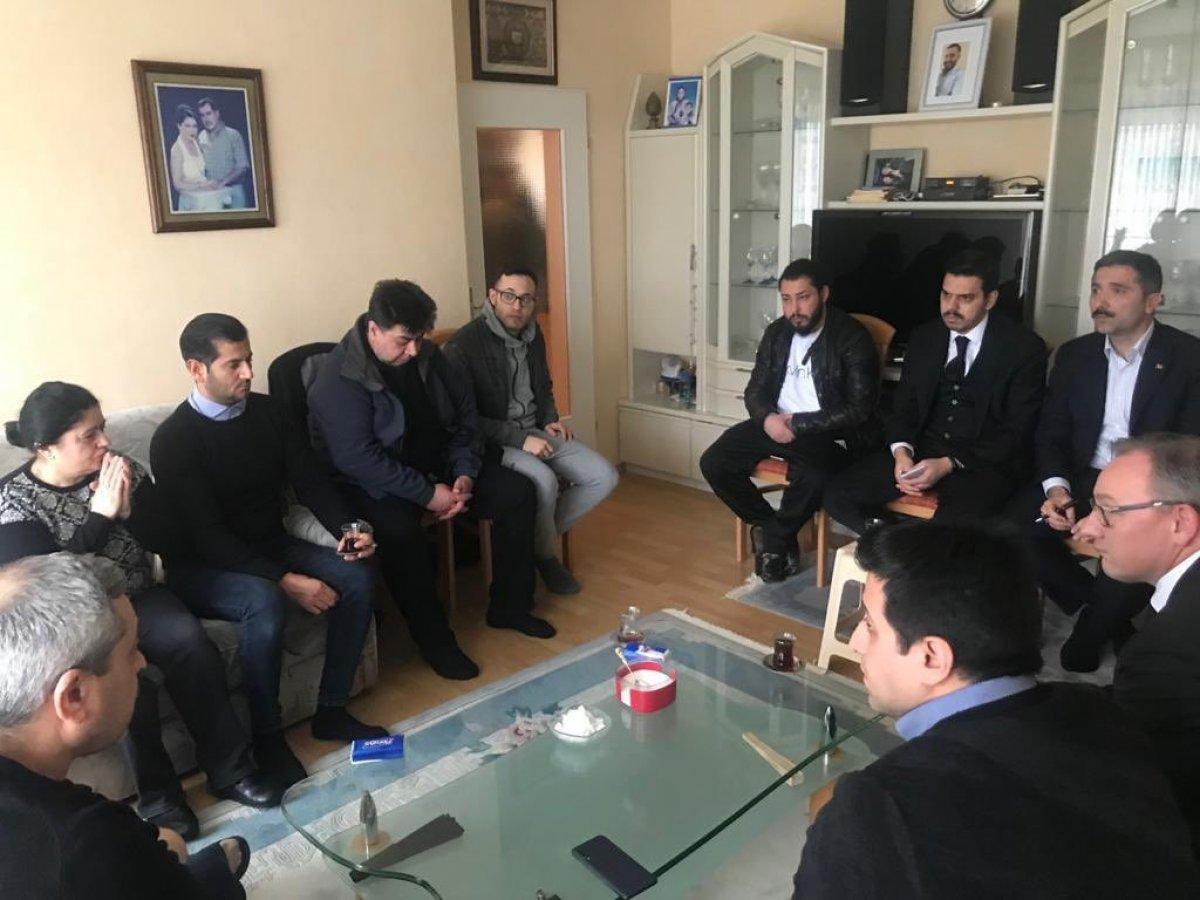 Erdoğan'dan acılı babaya başsağlığı