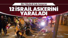 Filistinli, aracını İsrail askerlerinin üzerine sürdü