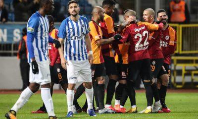 Galatasaray vitesi 5'e taktı, 3 golle kazandı