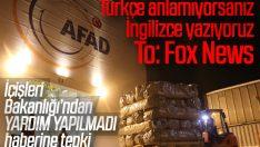İçişleri Bakanlığından Fox TV'nin haberine yanıt