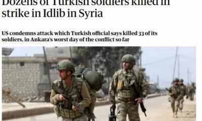İngiliz basınından Türk askerlerini Ruslar vurdu iddiası