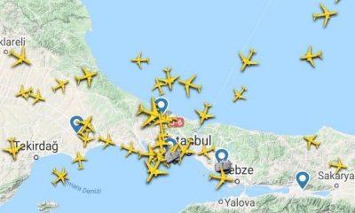 İstanbul Havalimanı'nda kaza sonrası yoğunluk yaşandı