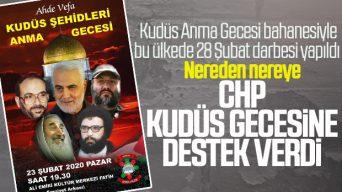 İstanbul'da Kudüs Şehitleri Anma Gecesi düzenlenecek