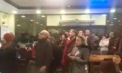 Kavala'yı karşılamaya gidenler gözaltı kararıyla şok oldu