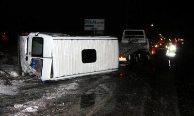 Kayseri'de işçi servisleri çarpıştı: 17 yaralı