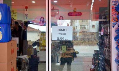 Kırşehir'de ekmek rekabeti: Fiyatı 59 kuruşa düştü